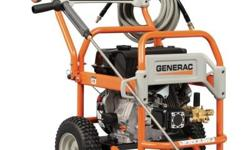 Durable, easy to use and built to last, Generac?s rugged commercial power washers feature professional-grade triplex pumps and durable, welded roll-cage style frames that protect both the engine and p