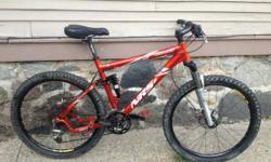 """Giant NRS-2 size medium/large. 18.5"""" frame. 26"""" wheels. Just recently tuned- mechanically perfect. Absolutely no play in suspension. RockShox dart 3 front suspension. RockShox SID dual air rear suspen"""