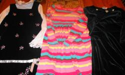 My little girl LOVES outfits however has outgrown her size 6's from last year. 16 total. Some are more casual and some even more dressy. They are in outstanding condition and are terrific cost for som