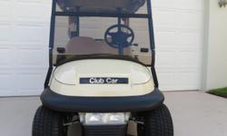 2008 Club Car Precedent (2012 Rebuild) Excellent Condition Sunbrella enclosure Head/Tail/Brake Lights/TurnSignals/Horn High-speed motor Cooler/Ball Washer & 2 Sand bottles 48-volt with charger; batter