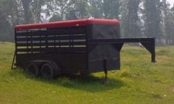 14 ft gooseneck stock trailer new floor and tires. in great shape. call 864-426-8624 // //]]> Location: Union,SC