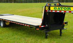 Thanks for your interest in our Dual Tandem gooseneck trailer. The strengths of this trailer are a 14 22 lb. per foot I-beam mainframe which is considerably stronger than ou Thanks for your interest i