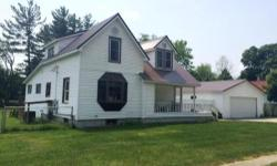 Beautifully custom remodeled riverfront home in the village of Barryton. This lovely home features 3 bedrooms, 2 baths, wood flooring, new window and roof, covered front porch, and back deck overlooki