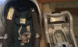 I have a Graco infant car seat that includes the base w/3 adjustable settings. Car seat has been used maybe 3 times and is in excellent condition. Material has been sanitized and washed.