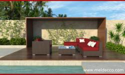 Type: Furniture Type: Corner Pieces Meldecco Patio Furniture is a sleek contemporary collection that offers unique modular pieces that allow endless possibilities. We combine high style/design with fu