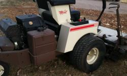 """723K Grasshopper (SOLD!) BRAND NEW! 23 h.p. Kohler, variety of attachments available-power fold deck, snow blower, etc. CALL FOR OPTIONS AND PRICING 727 Grasshopper 2010 27 hp Kohler air cooled, 52"""" p"""