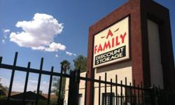 A-Family Discount Storage  4320 W Ina Road  Tucson, AZ 85741  https://www.facebook.com/ina.afamily  Located West of Old Father  (520) 572-9677  Hours of Operation  Monday - Saturday: 8:00am to 5:00pm  Sunday: 9:00am to 1:00pm   Gate Hours: 7:00 am to 7:00