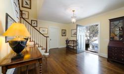 Classic Bedford in the heart of the Guard Hill Estate area. Gracious stone & shingle Colonial with beautiful custom Kitchen & Baths, perfectly scaled formal and family rooms, excellent layout, high quality millwork, gorgeous hardwood floors and multiple