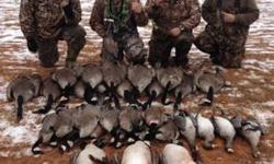 Goose Reapers Guided Outoors, LLC, is opening its calender for the upcoming OK Goose and Duck periods. We specialize in the dry field style hunts, however were not scared of getting wet chasing ducks