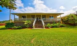 just blocks from charming Hawi Town, this beautiful home provides privacy, convenience and a picturesque setting. Built by the current owner, it has been meticulously maintained. The thoughtful floorp