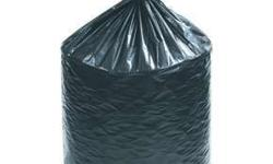 These Hi density bag come with a star seal and on rolls. Low density liners have a higher resistance against punctures and tears. For heavy duty trash for building construction, lawn maintenance, and