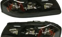 Headlights Headlamps LH Left & RH Right Pair Set of 2 Kit for 04-05 Chevy Impala Detailed Applications Specifications: Come as aPAIR Fits both the LH (Driver Side) & RH (Passenger Side) Includes