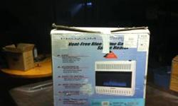 I have a propane heaters for the floor or a wall mount. It is a vent free and 99.9 efficiancy unit. It is new and has never been out of the box model ML300TBA its called a Pro Com Blue flame. It heats