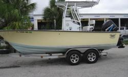 Manufactured in Florida, this Hell's Bay Boatworks 2005 Cape Sable 21 CENTER CONSOLE, has all the goodies including a $300 custom cover. The trailer is an aluminum tandem axle with 5 like new tires an