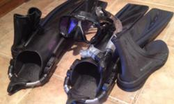HIGH QUALITY Scuba Gear ... Worn Only ONCE! ... ...$249. ... PLUS ** FREE ** WET SUIT (females's complete wetsuit)... & & ** FREE ** ROLLER BLADES (K2 Women's Size 8.5). *********** CALL or TEXT 817-9
