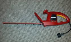 "17"" Homelite hedge trimmer that works well. Please call or text 386-243-4142."