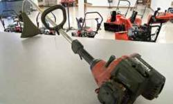 For sale is a Homelite Trimlite Curved shaft string trimmer Email or call 608-348-6565 and ask for Brandon, Brian, or Gary Scott Implement, Platteville, WI Location: Platteville, WI