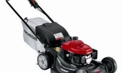 The Honda 21 in. GCV190 Gas Variable-Speed Self-Propelled Walk Behind Mower features hydrostatic cruise control that provides gradual speed adjustment to match your mowing conditions. The Blade Stop S