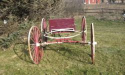 Horses no longer with us, so the buggy is for sale. We have the hitch pole to go with it.