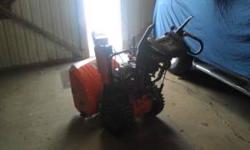 Husqvarna snow blower ..self propelled;; selling this for a friend call him for more info 517-676-6040 Location: Dansville
