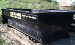 AustinRolloffDumpster.com  512-751-6189  Austin Roll Off Dumpsters rents 12 or 18 cubic yard containers for residential or commercial construction debris removal, renter move-outs, remodeling, aparmen