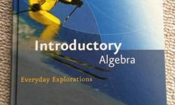 show contact information. I am selling an introductory to algebra textbook. It's practically brand new and I bought it 3 years ago for a grcc 098 math class. It's the fourth edition of this book. Call
