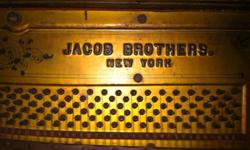 Jacobs Brothers built excellent pianos from about 1878-1946.Serial #30626 built in 1905.Excellent condition but does need new keys and needs to be tuned. $500 or best offer. Moving to a smaller house