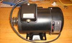 I took this motor off my table saw. 115/230V 3450 rpm Call 304-665-2795 Location: Waverly