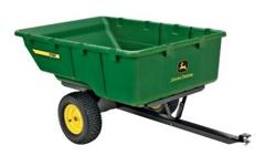 Got a big outdoor project save time, and your back, with a premium heavy-duty John Deere cart. Ideal for larger outdoor projects, this 17 cu. ft., 1,000 lb. load capacity cart effortlessly hauls large