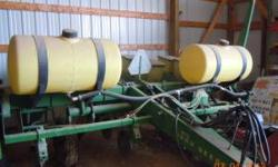 John Deere 7000 4 row wide corn planter. Liquid fertilizer, insecticide boxes, no till coulters, computer trac 150 monitor. Excellent condition, very few acres last five years. Call 608-988-4060 or 60
