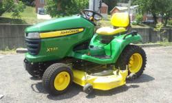Used X530 Tractor manufactured in 2010 with 257 hours and in excellent condition. Manufacturers Link Specifications: Engine: Kawasaki 26hp Air Cooled V-twin OHV Fuel Tank Capacity, U.S. gallon 4.5 Tra