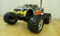 Just built Traxxis E Maxx on only a 2s battery little 25c with a VXL system new tires $350 gettysburg pa 17325, will handle 3s up to about 50c constant would really be fast then, even as it is its spi
