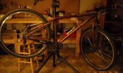 I have a khs solo one 29er bike for sale. the frame/seatpost are 2009 but everything else on the bike is 2010 and up. this thing was babied i have only put about 120mi on it, and i lube and clean it a
