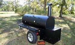 """Lang 84"""" Original Smoker Cooker ~ 3rd Generation ~ Newest Model $3200.00 COOKING CAPACITY Will Hold: 83- 1/2 Chickens Or: 40 - 8lb. Boston Butts Or: 35 - Slabs baby Back Ribs Or: 25 to 30 - Slabs Reg."""