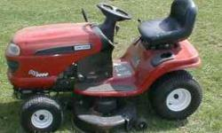 "Model DLT3000... manual included B&S 18.5 HP motor, 42"" Mower deck Electric Start... 6 speed transaxle Adjustable seat... good tires Runs great... Very good condition! Original owner... $600/offer Cal"