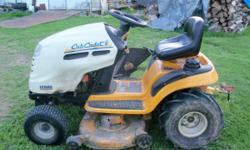 """Selling my Cub Cadet Lawn Tractor 19 Hp 42"""" mower deck Agri tires Hydrostatic cruise control 214 Hours Runs Good Asking $1300 obo Call or text 724-730-7399 // //]]> Location: Beaver County"""