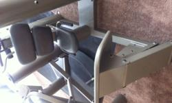 Vectra 1150 Leg Press for Sale. Excellent Condition and a great deal! Lightly Used. 1150 is a leg press with a 350 stack. *ALSO Selling a Vectra On-Line 1500 Home Gym (SOLD SEPARATELY) Check out pictu