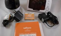 """This is a new Levana 4.3"""" Pan/Tilt/Zoom Digital Baby Monitor with talk to baby intercom. PRODUCT INFORMATION See more on a 4.3 inch screen: Why settle for a smaller screen when you are watching the bi"""