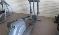 Springtime Sale !!!  Life Health and fitness 91X Elliptical Crosstrainer w/moving arms.  ***** Excellent condition !! ***** Self powered !! *****.  MSRP, new, $4,995 =======> )Our price, refurbished,
