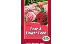 The LILLY MILLER Ultragreen 10 lb. Rose and Flower Food is perfect for feeding your rose bushes and flower garden. This plant food provides an essential mix of nutrients to provide your flowers with t