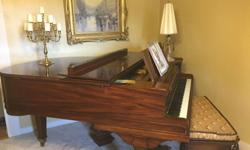"""Baldwin Living Room Grand Piano, 5' 8"""" Model R. Serial number R 1133140. Designed for performance, and higher music school use. Its a wonderfully balanced and versatile piano that does extremely well"""