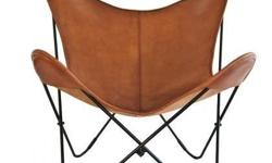 The B.K.F butterfly chair is the ironic mid century designer chair that was first created in 1938 by the Austral Group in Buenos Aries, where it was designed by the three architects Antonio Bonet, Jua