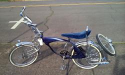 "Custom 20"" lowrider schwinn bike. This bike has won many lowrider bike show contests. Originally for sale for $1200, but now it's only $650 obo at Fall Line. Come check out this custom one off bike. y"