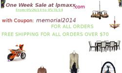 One week sale at lpmaxx.com with coupon: memorial2004