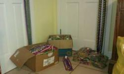 """I just got done sorting all the beads....I have: (73) dozen 33'' beads (22) dozen 48'' beads (1.5) dozen 70'' beads (16) dozen in bags , size unknown (3) dozen 60"""" beads 84 pounds of beads total, tagg"""