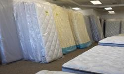 Liquidating excess mattress sets for a top name brand. Direct from factory to you indicates HUGE cost savings! All sets are 50-80 % less than list prices. Queen sets beginning at $150- all bed mattres