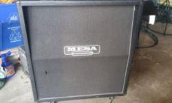 Mesa Boogie cab loaded with 4 Celestion Vintage 30 speakers in good condition minus some cosmetic blemishes