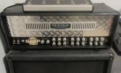 Mesa Boogie Triple Recifier Amp Head. 150 Watt. 3 channels. Screams. Very nice condition. Recently put all new tubes in it (I'd guess maybe 25 hours of use on the new tubes). I will include the old tu