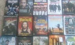 I have 70 mint condition dvds I need to sale because im moving and need to down size please only respond if you want the whole pack. can ad other pics but my phone is messing up. but promise all good