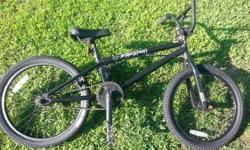 The Black pearl by Mirraco 20 in wheels. 1 set of pegs BMX Trick freestyle Dave Mirra bike WHAT I WANT OR COULD USE: ============. 1. Mechanic Pneumatic devices. 2. Enclosed trailer over 8 feet. 3. A